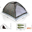 2014 good quality outdoor camp floding 1-2 person hiking single layer beach tent sport Cam