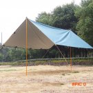 Waterproof Outdoor Camping Tent Heavy Duty Awning Trail Tarp Tent Hiking Shelter Winterize