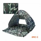 Ultra-light Tent  camouflage Single Layer Waterproof Outdoor Portable Travel Hiking Camp T
