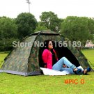 2 person barraca camping roof awning tent outdoor bivvy Tourist hiking trekking camouflage