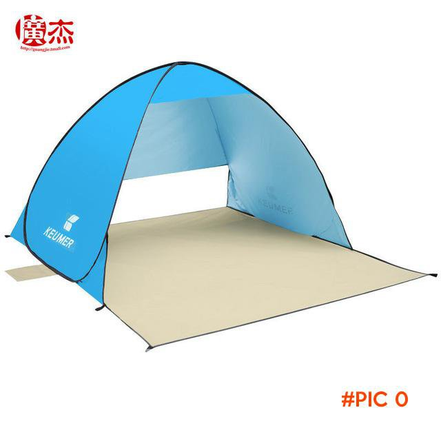 3 person beach tent Anti UV sun shelter quick antomatic opening pop up tents beach shade,