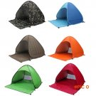 2-3 Persons Quick Automatic Pop Opening Camping Hiking Beach Fully Tent BC321
