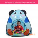 Colorful Cartoon Tent Children Beach Play House Indoor&Outdoor  Multi-Function Baby