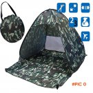 Camouflage Camping Tent Outdoor Camping Fishing Automatic Tent Made of High Quality Polyes