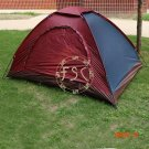 Top Brand Quality double layer 2- 4 person rainproof outdoor camping tent for hiking fishi