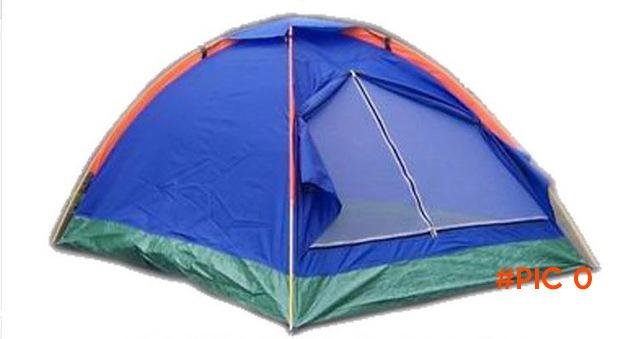 Camping Tent Nylon Outdoor Beach Tent Single Layer 2 Person Tent Ultralight Beach Tent Cam