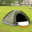 free shipping ultralight  3-4 person outdoor waterproof camping camouflage military tent BC418