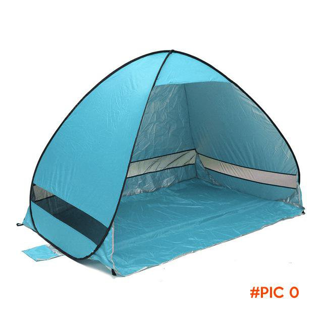 OA Quick Automatic Opening beach tent sun shelter UV-protective shade lightwight pop up op