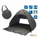OA 1set Leopard camping hiking Quick Automatic Opening tents UV protection fully open tent