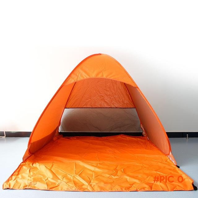 Outdoor fishing camping hiking beach summer sun shelter UV protection fully sun shade Quic