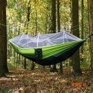 Portable High Strength Parachute Fabric Camping Hammock Hanging Bed With Mosquito Net Slee