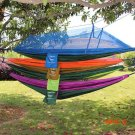Outdoor Waterproof Portable High Strength Parachute Fabric Camping Mosquito Hammock with M