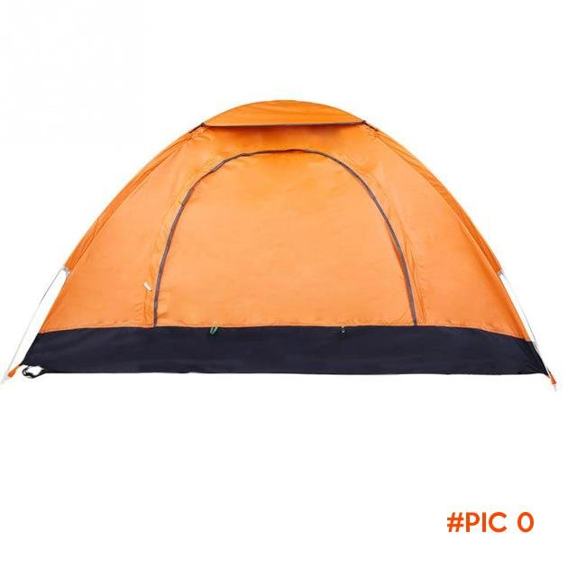 Tent Hiking Outdoor Camping Double Speed Open Tent  Waterproof And Anti Ultraviolet Rest E