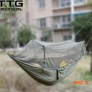 Ultralight Camping Hammock with Integrated Zipper Portable Lightweight Camping Survival Ha