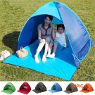 2-3 Persons Quick Automatic Pop Opening Camping Hiking Beach Tent UV Protection BC491