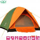 High Quality Double Layer 2 Person Rainproof Outdoor Tourist Camping Tent For Bivouac Hiki