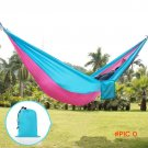 270*140cm Outdoor Hammock Camping Survival garden hunting tent Leisure travel 2-Person Por