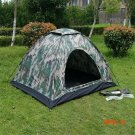Portable Camping Tent for 2 Person Single Layer Outdoor Tents Camouflage for Camping Hiking BC524
