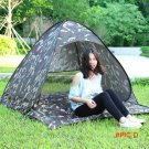 Quick Open Layer 3/4 Person Rainproof Outdoor Automatic Folding UV Protection Camping Tent