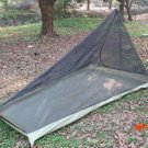 600G 40D nylon plaid bottom Ultralight Outdoor camping tent with mosquito net Summer 1pers