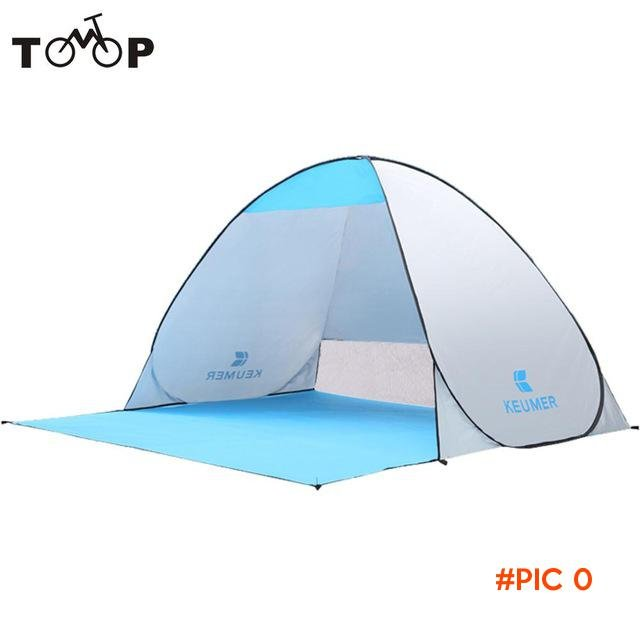 Portable Outdoor Automatic Tents Instant Pop Up Beach Tent Anti UV Shelter for Camping Fis
