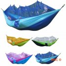 Ultralight Camping Hunting Mosquito Net Parachute Hammock 2 Person Flyknit Hamaca Garden H