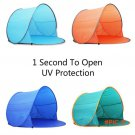 Outdoor Home Quick Antomatic Opening Pop Up Beach Awning Fishing Tent Children Camping Hik