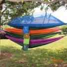 1-2 persons outdoor camping outdoor survivor mult-ifunction portable  anti-mosquito hammoc