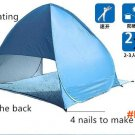 2-3 Persons fishing tent Outdoor camping hiking beach summer tent UV protection fully sun