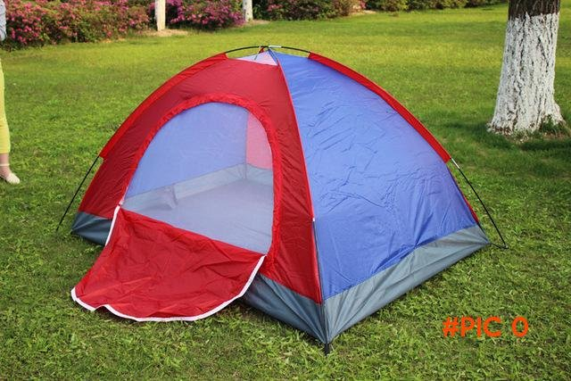 Brand New Waterproof Outdoor Hiking Tents 1~2 person Camping Tent Pack with Carrying Bag