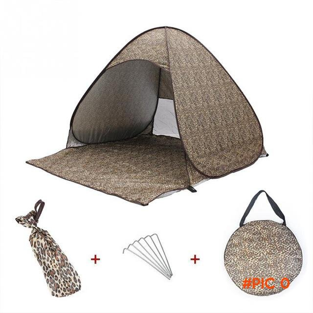 Portable Waterproof Automatic Instant Tent Outdoor Sport Anti-UV Camping beach tent shade