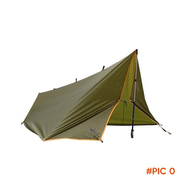 4 Seasons Multifunctional Sun Shelter Outdoor Camping Hiking Tent Wear-resistant  Waterpro