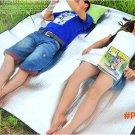 Waterproof Double Layer Aluminum Backing Insulating Insulation Foam Camping Mat Blanket Cu