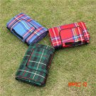 Portable5 Size Multiplayer Fold Waterproof Moistureproof Baby Climb Plaid Blanket Outdoor