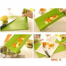 Creative Portable Foldable Flexible Plastic Chopping Cutting Board Mat for Kitchen Camping