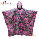 3 in 1 Multifunctional Military Travel Raincoat Poncho/Backpack Rain Cover/Waterproof Tent