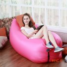 Outdoor lazy inflatable Camping mat sofa Portable Rapid Inflatable Sofa Bed Camping mat la