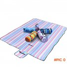 150cm*200cm Outdoor Foldable Picnic Beach Mat Camping Baby Climb Plaid Blanket Waterproof