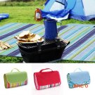 200*145cm 4 Colors Waterproof Sand Free Mat Outdoor Foldable Beach Picnic Camping Mat Blan