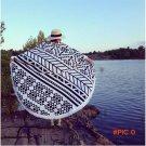 Camping Mat Microfiber Surfing Sunbath Beach Towels Tassels toalla playa serviette de bain