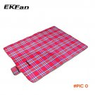 EKFan 150x200cm Beach Picnic Camping Mat Blanket Folding Baby Climb Plaid Blanket Waterpro