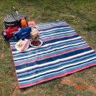 TOMSHOO 135*150cm Camping Mat Outdoor Beach Picnic Waterproof Moistureproof Baby Climb Ten