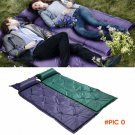 2016 New 2.5cm Outdoor Automatic Inflatable Picnic Camping Mat Air Bed Matress Pad free sh