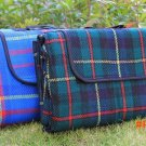 Folding Cashmere PE Cotton 200*150cm Camping Mat Portable Outdoor Picnic Mat Waterproof La