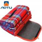 AOTU New Summer Winter Outdoor Camping Mat Pattern Print Good Quality Beach Park Patchwork