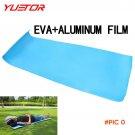 Brand YUETOR 1 Person Aluminum Film Camping Mat Outdoor Leisure Dammpproof Sleeping Cushio