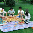 Outdoor camping mat portable big size picnic mat no pump beach sleeping thicken pad moistu