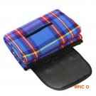 Hot sale 150x200cm Outdoor Picnic Garden Camping Moistureproof Mat Pad Blanket Blue H1E1 BC694