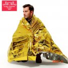 survival emergency blanket camping mat keep warm waterproof ground mat PET film for outdoo