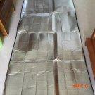 2016 New 1*2M Single Size Sleeping Mattress Mat Pad Waterproof Aluminum Foil EVA Outdoor C